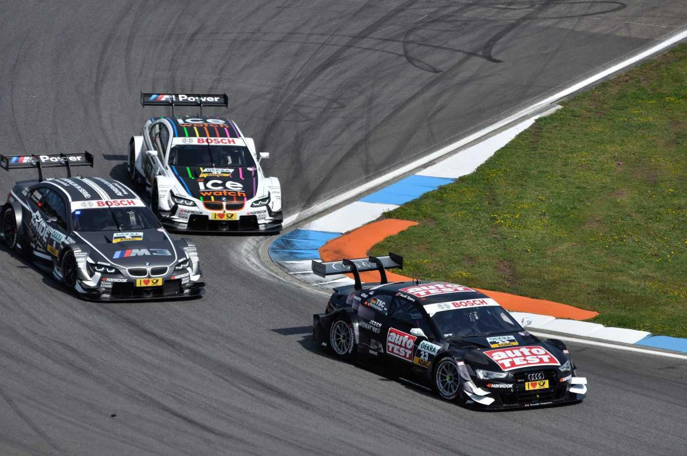Fantastyczne zawody Roberta Kubicy! Polak wywalczył podium w serii DTM!