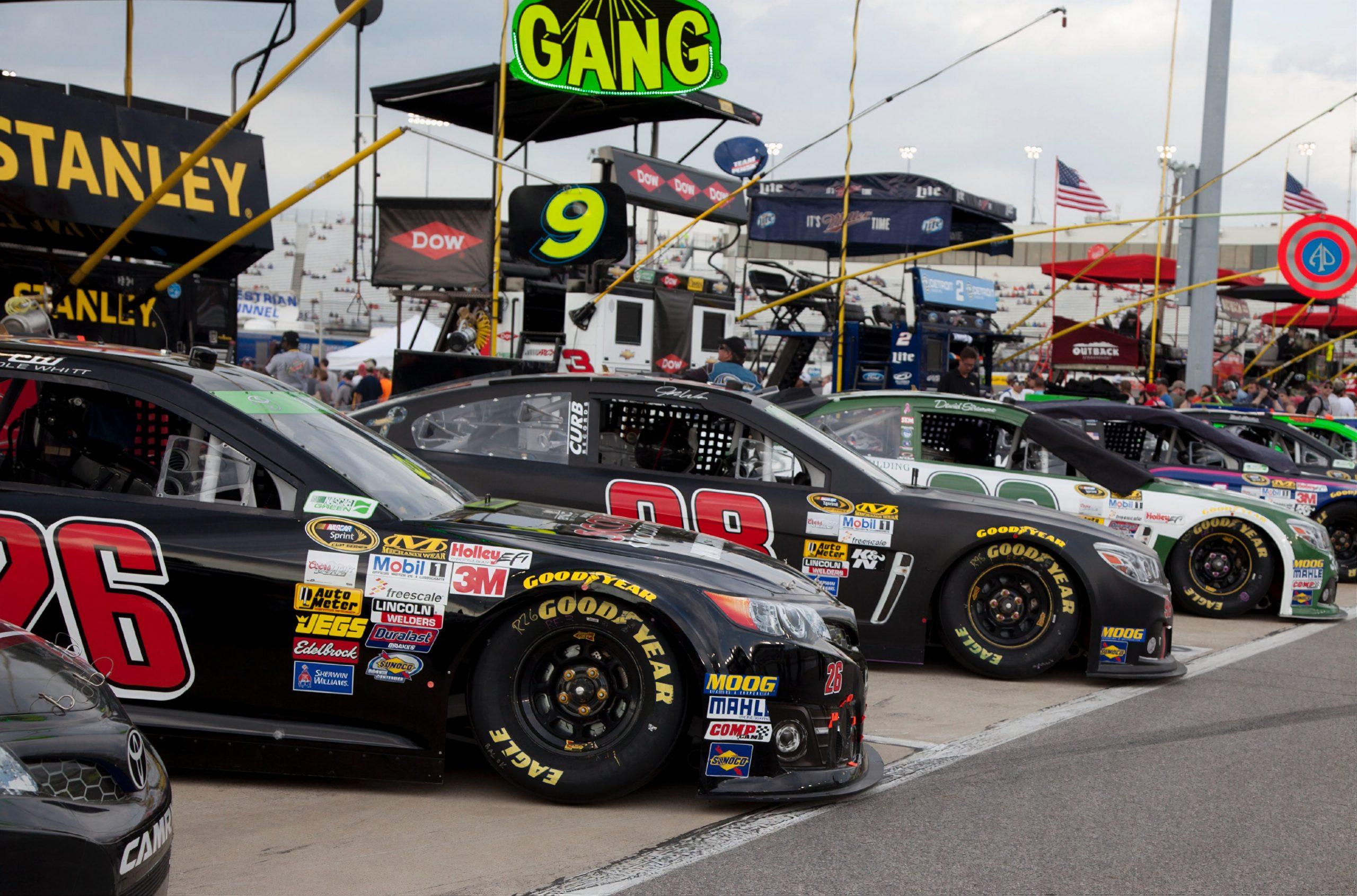 2021. Wyścig NASCAR na amerykańskim torze F1