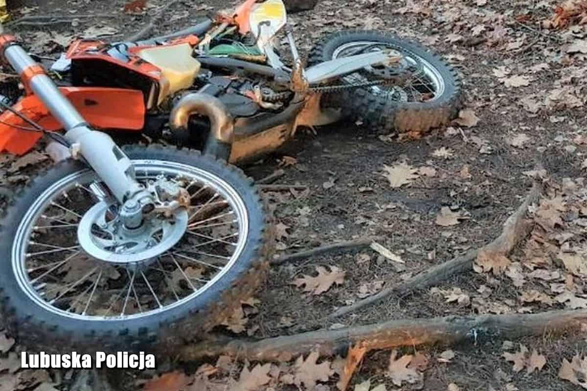 Lubuskie. Tragiczna śmierć 17-letniego pasjonata motocrossu