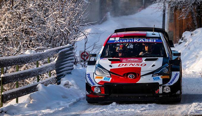 WRC Monte Carlo. Sebastien Ogier nie miał sobie równych podczas sobotnich startów