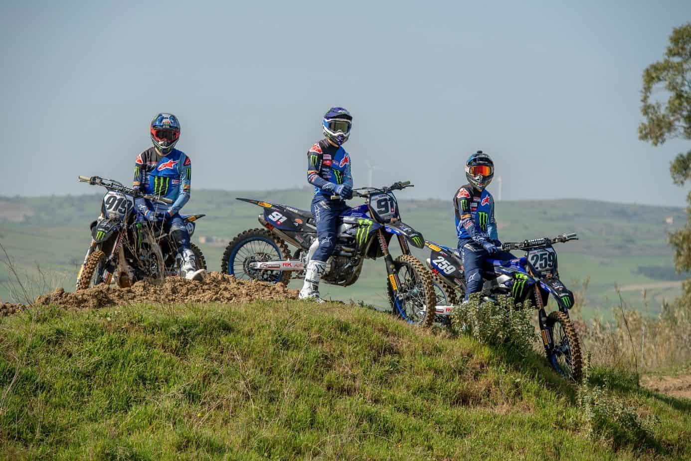 Zespoły Monster Energy Yamaha Factory trenowały we Włoszech