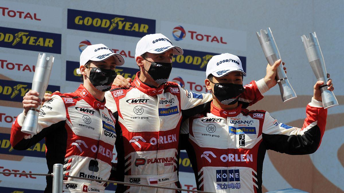 ELMS: Kubica po raz drugi na najwyższym stopniu podium!
