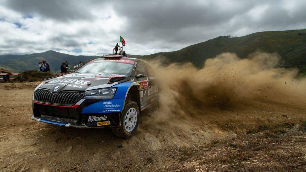 WRC: Kajetan Kajetanowicz na najwyższym stopniu podium w Portugalii!
